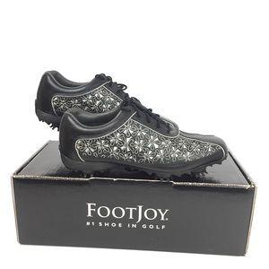 Foot Joy Womens Golf Shoes Floral Design Size 6.5M